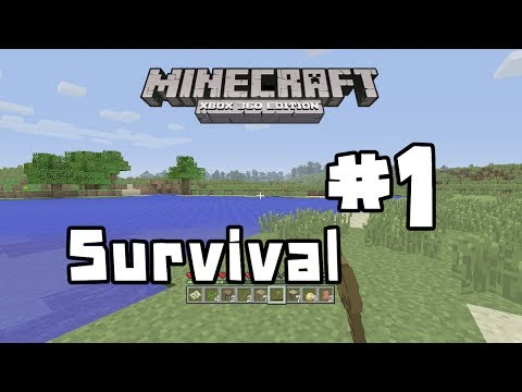 Minecraft Xbox 360 - The Start Of A New World - 1