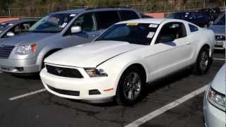2011 ford mustang 37l v6 start up rev with exhaust view 24k