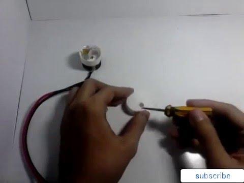 Membuat pompa air - water pump - YouTube