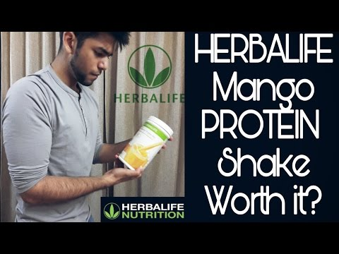 HERBALIFE Protein Nutrition shake , Mango flavour | Honest Review