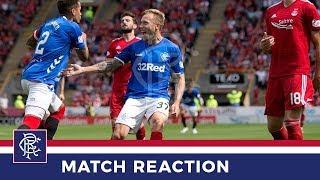 REACTION | Scott Arfield | Aberdeen 1-1 Rangers