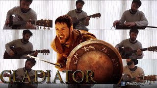 'Gladiator' Main Theme - 'Now We Are Free' (Paul Quinn - Acoustic Guitar Cover)