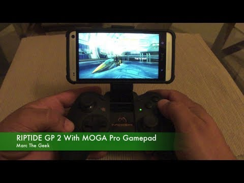 RIPTIDE GP 2 with MOGA Pro Gamepad