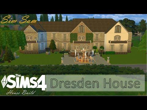 Sims 4 House Build - Dresden House