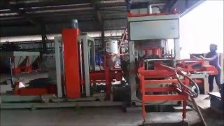 Automatic Bricks & Blocks Making Machine - ENDEAVOUR iC 750 with Pallet Stacker