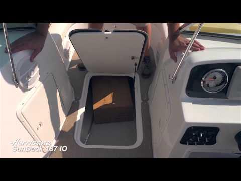 Hurricane SunDeck 187 IO Product Walk-Through