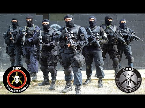 BOPE & CORE RJ - Brazilian Special Forces