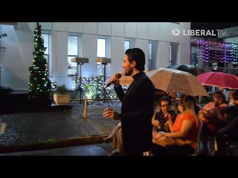 Tenor Cesar Camargo retorna à Cantata Natalina do LIBERAL