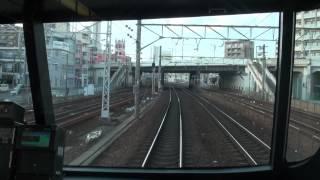 【前面展望】 名鉄名古屋本線 1200系 特急 豊橋~名鉄岐阜