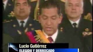 LUCIO GUTIÉRREZ Y SU EFÍMERO GOBIERNO