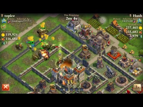 Dominations- Enlightenment army atk max out industrial