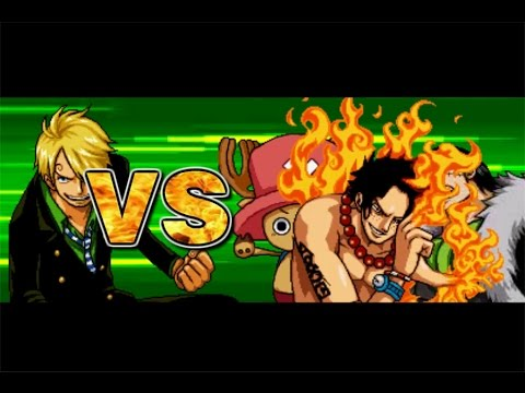 One Piece Hot Fight 0.7 - Sanji Vs Ace & Chopper & Crocodile