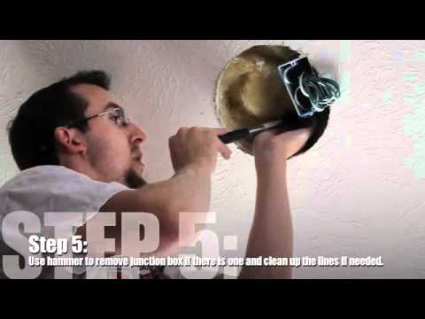 In Ceiling Speaker Installation Youtube
