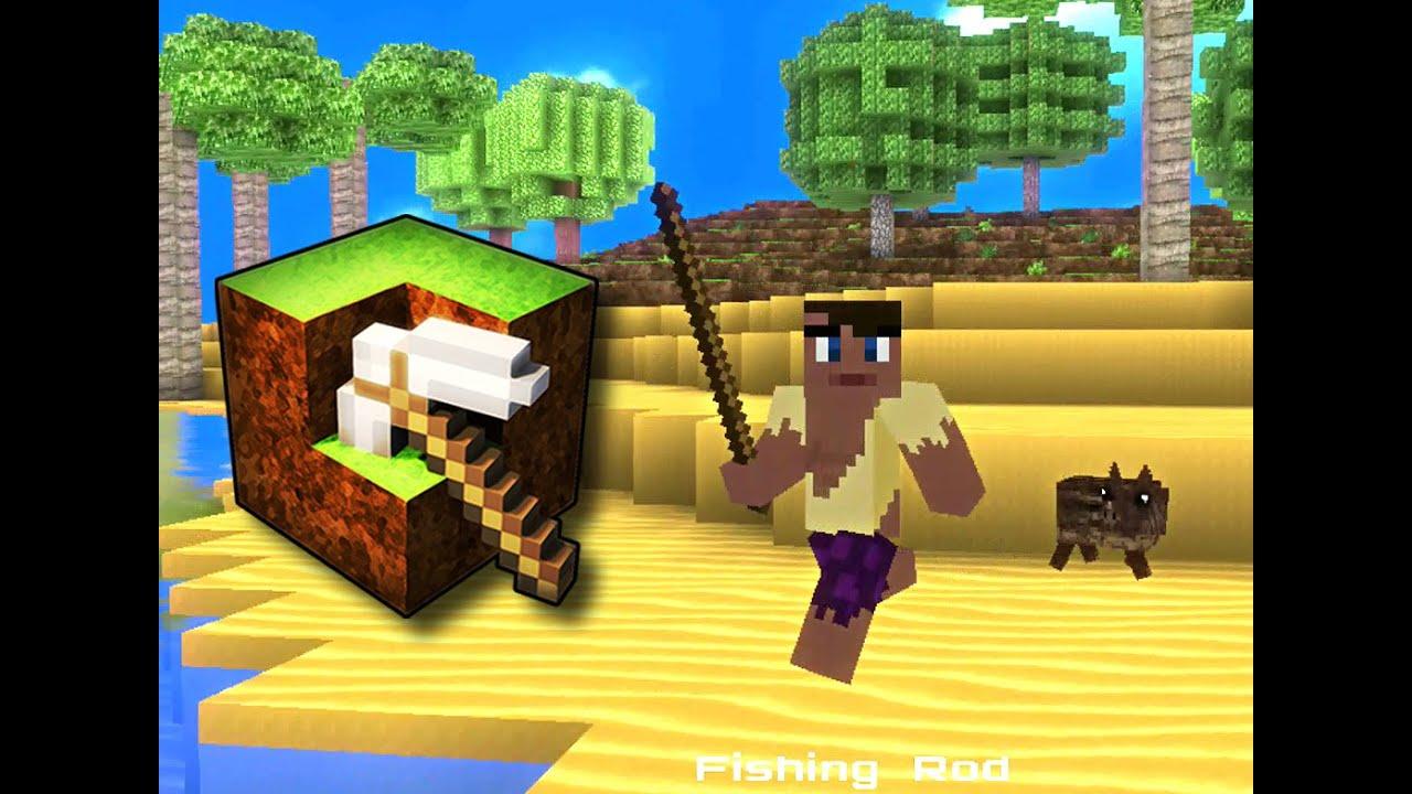 cube life island survival update v1 1 official teaser wii u youtube. Black Bedroom Furniture Sets. Home Design Ideas