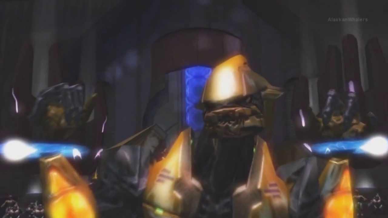 Arbiter Cutscenes Hd Halo 2 Youtube