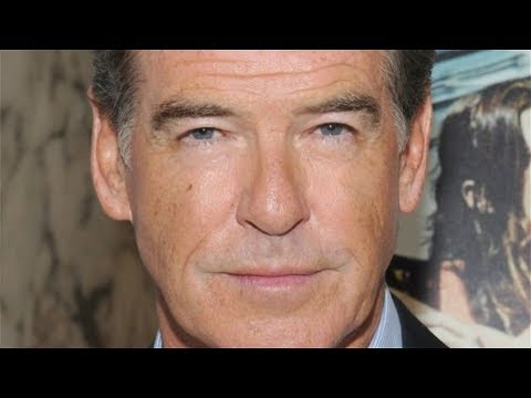 Tragic Details That Have Come Out About Pierce Brosnan