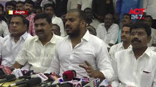 MLA Anil Kumar Yadav Press Meet || Nellore|| ACT24X7HDNEWS