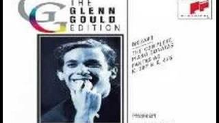 glenn gould plays mozart sonata in a major k 331 1st mvt