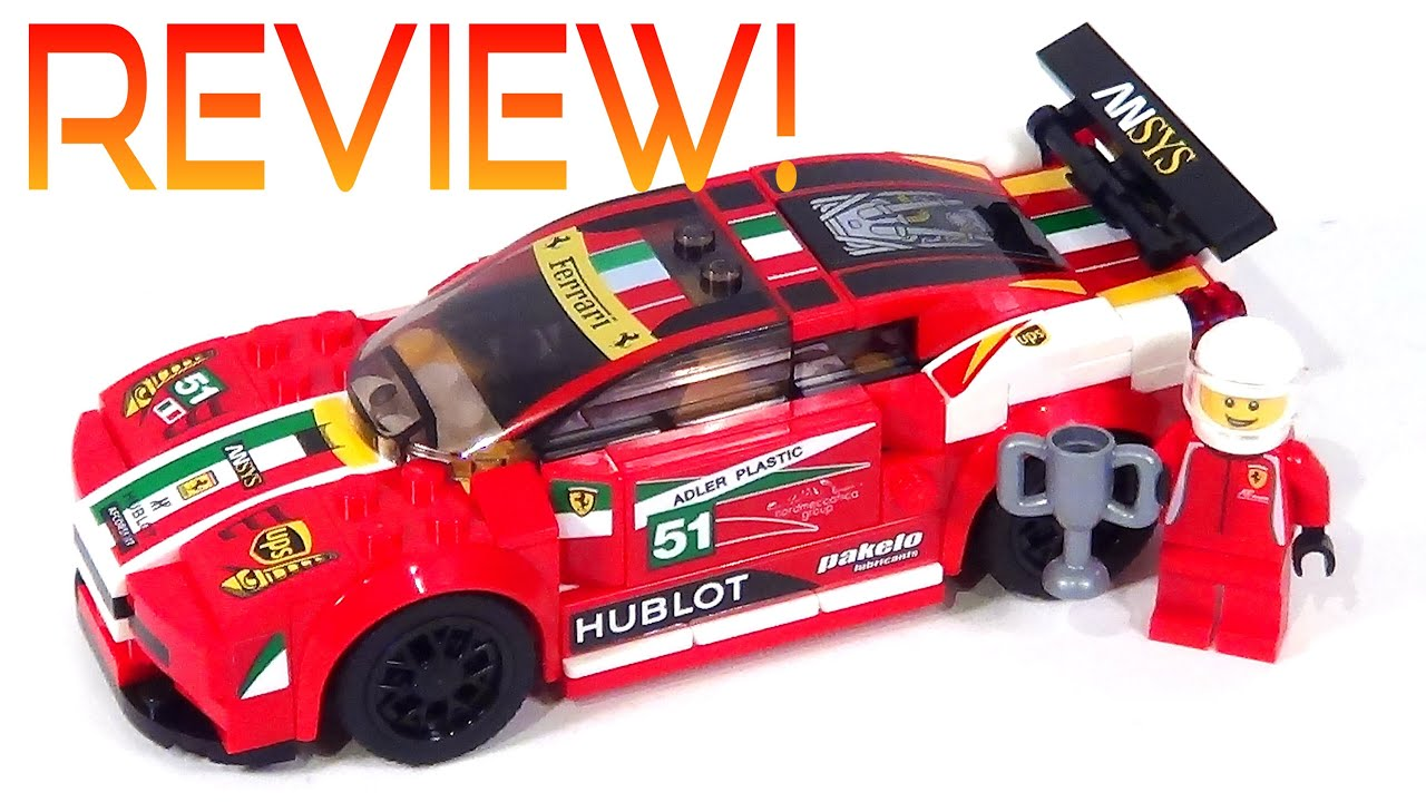 new lego speed champions ferrari 75908 review 458 italia gt2 youtube. Black Bedroom Furniture Sets. Home Design Ideas