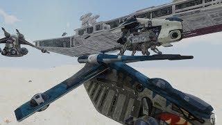 "REAL Clone Wars - Arma 3 Star Wars 501st Legion Campaign Ep.1 ""Battle for Aargonar"""