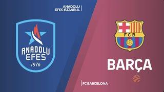 EuroLeague 16. Hafta: Anadolu Efes - FC Barcelona