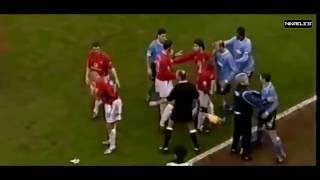 [Football] All Fight of Man United vs Man City - Manchester Derby - HD 720p