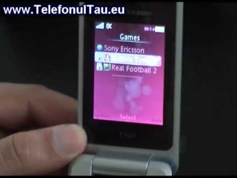Sony Ericsson T707 Review ( in Romana )
