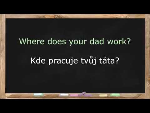 Learn Czech Language. Czech Lessons for Beginners. Common Words & Basic Phrases - Lesson 1