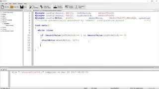 Vex Robotc 4.x : 06 : Boolean And Operator, Break and Continue