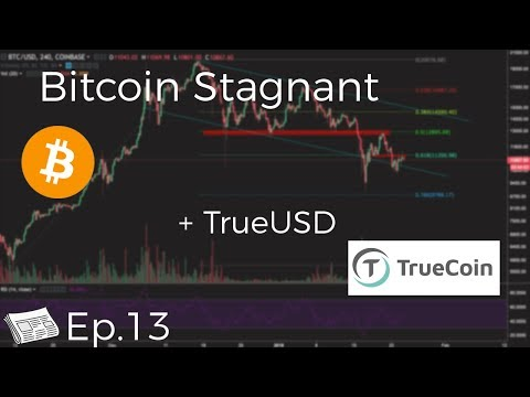 Bitcoin Stagnant + Robinhood Adds Crypto, Coincheck Freezes Funds, TrueUSD (Ep.13)