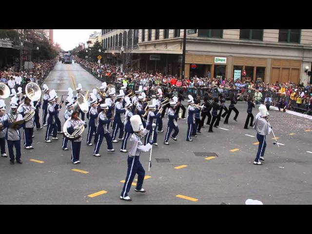 Booker T. Washington High School at Marching Madness Parade and Competition