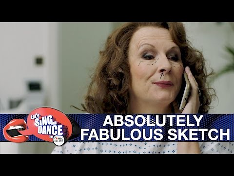 Absolutely Fabulous sketch - Let's Sing and Dance for Comic Relief 2017: Preview - BBC One