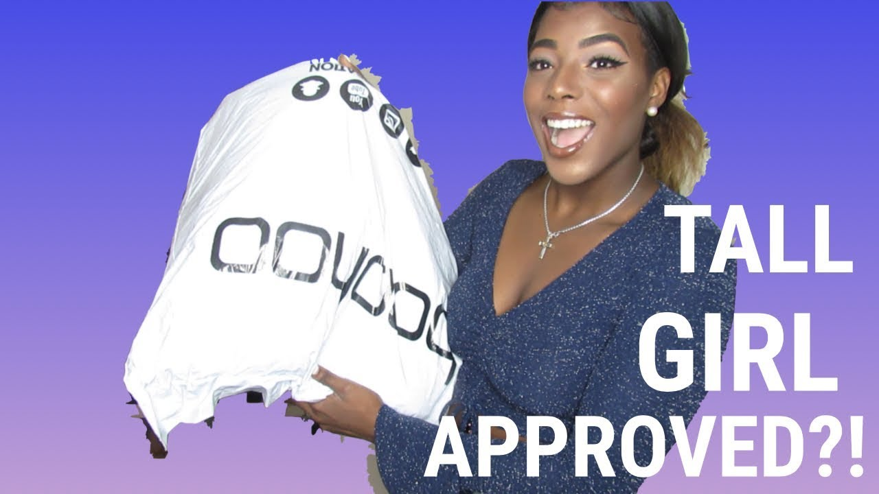 78513fe6e5 TALL GIRLL BOOHOO HAUL (IS IT REALLY TALL GIRL APPROVED?!) - YouTube
