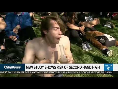 New study shows risks of second hand marijuana smoke