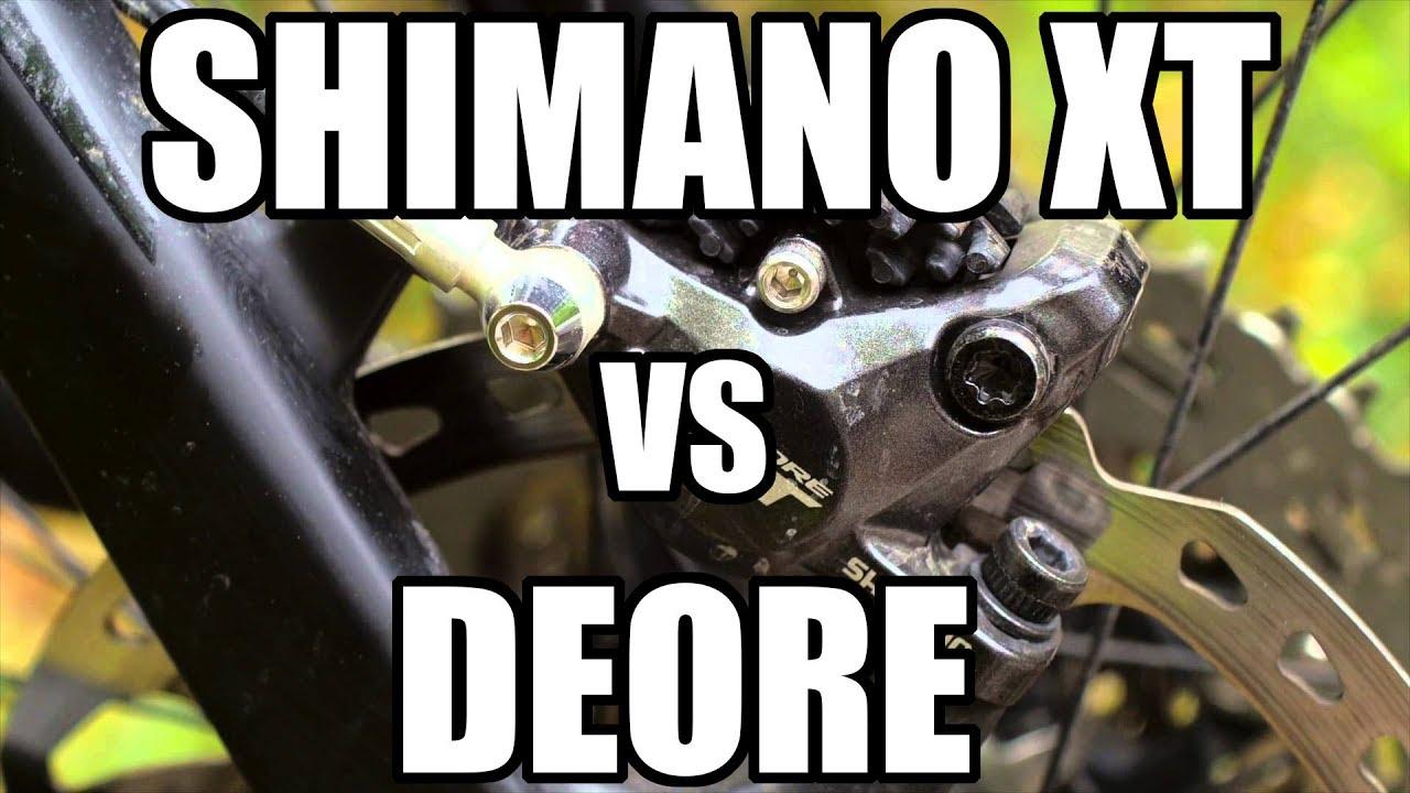 Shimano XT vs Deore - czy warto dopłacać? - YouTube