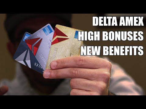 Delta Amex Credit Cards Relaunch (Major Updates)