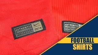 Nike Authentic vs. Replica Shirts - www.Football-Shirts.co.uk
