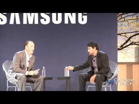 Omar Khan introduces Samsung Galaxy Player and AT&T Infuse 4G @ Samsung Press Event CES 2011