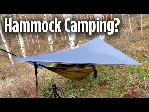 Is Hammock Camping for Me? Yukon Outfitters Double Hammock & Rainfly