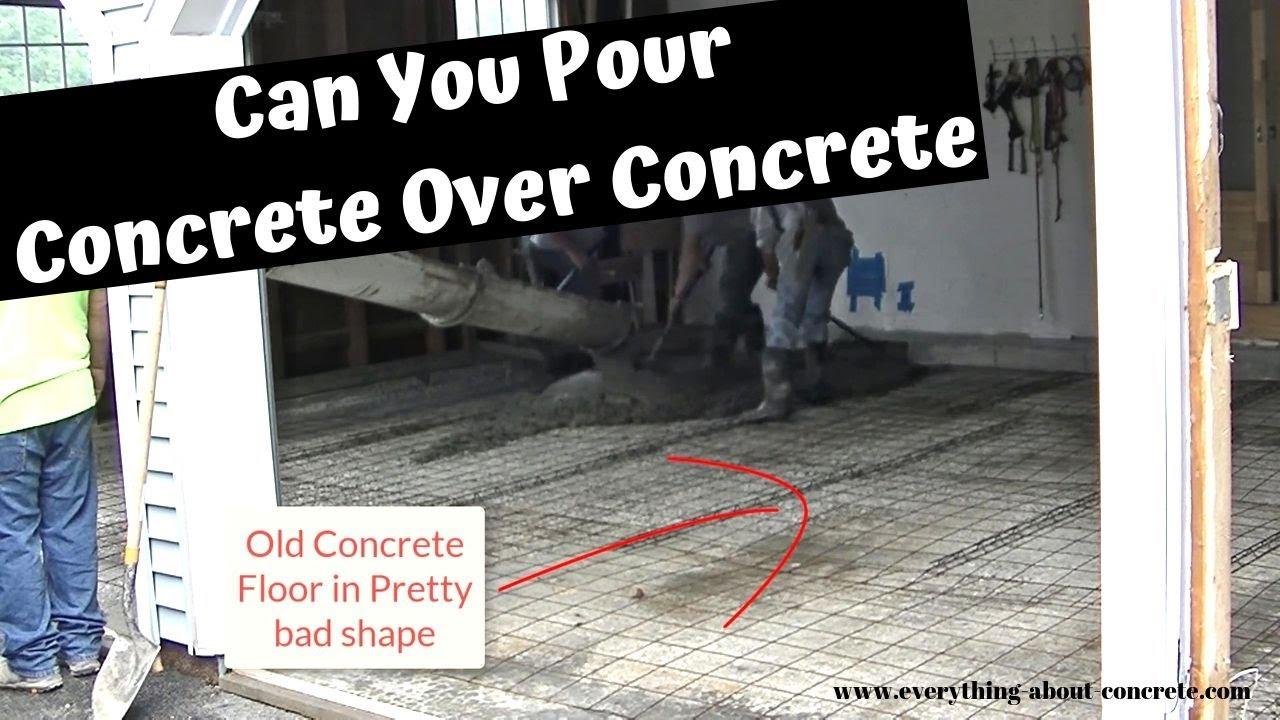 Existing Concrete Floor