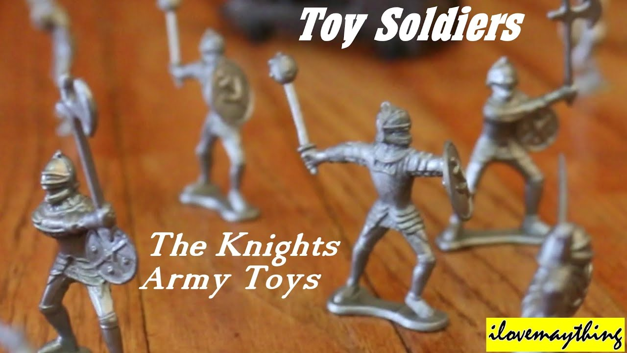 Toy Soldiers Medieval Knights And Cavalry Army Paytime