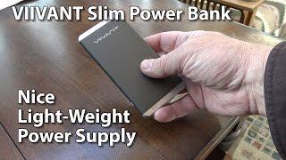 Viivant Slim Power Bank External Battery Li-Polymer Model VNT-PB031 Review