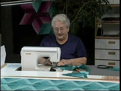 Braided Quilt Borders with Kaye Wood and The Starmaker Master Templates