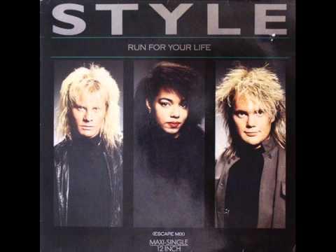 Style -  Run For Your Life  1987 (Italo Disco - Europop)