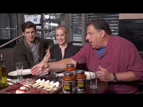 Italian Food and Slang with Steve Schirripa  Pickler & Ben