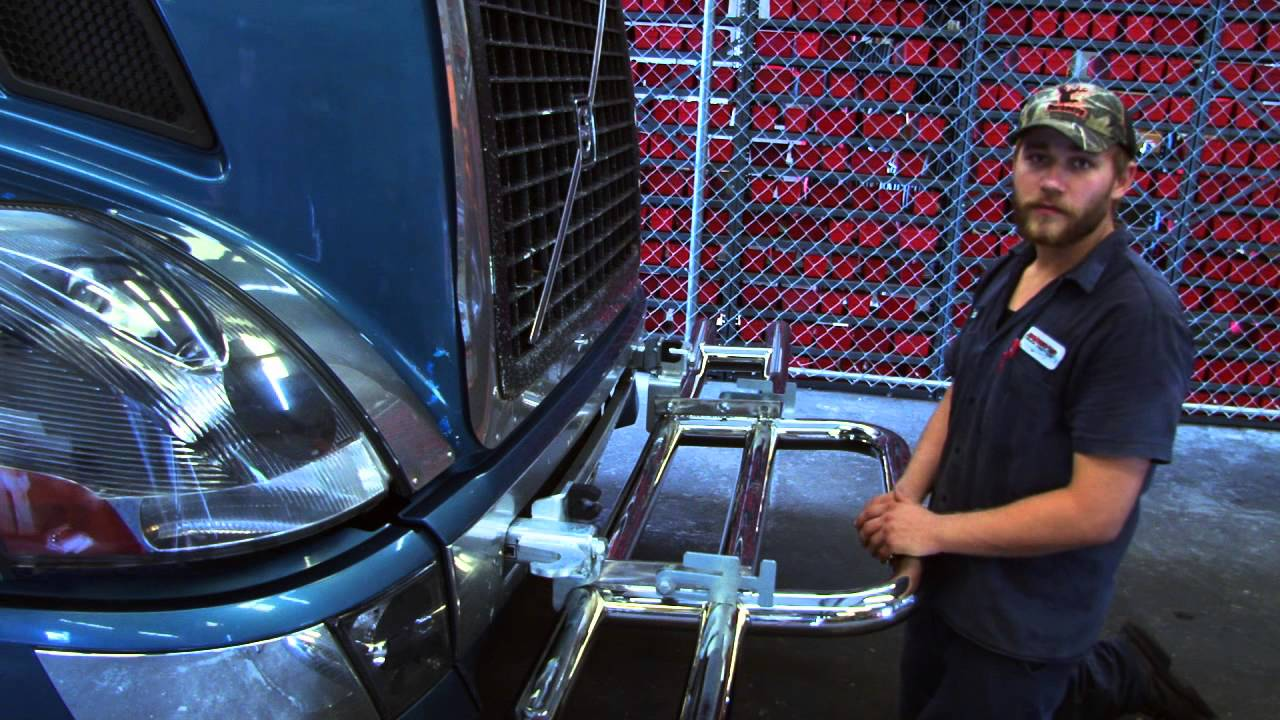 Volvo Semi Truck Parts >> How to Install a Big Rig Grill Guard | Raney's Product ...
