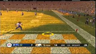 NCAA Football 09 PS3 Rivalry Mascot Game Kentucky vs Tennessee