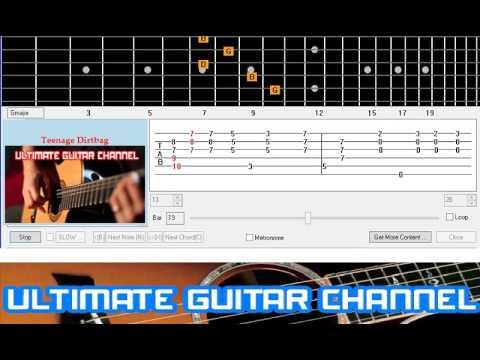 Teenage dirtbag guitar pro tab by wheatus @ musicnoteslib. Com.