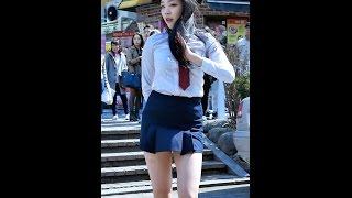 170401 댄스팀 리멤버 (헤니, Remember) - 봄의 나라 이야기 (에이프릴) @ 홍대 거리공연 직캠 By SSoLEE