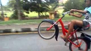 dak rare gaing wheelie biskal